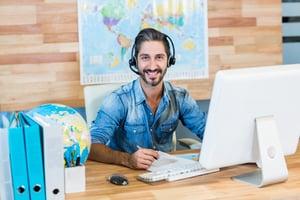 Travel business social media efforts